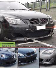 2004-2010 E60 M5 BMW HG TYPE CARBON FIBER FRONT LIP SPOILER