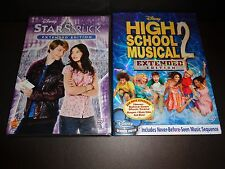 STARSTRUCK & HIGH SCHOOL MUSICAL 2-Extended Editions-2 DVDs- Hunky ZAC EFRON