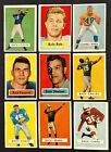 VINTAGE CARD LOT 1957 TOPPS VENDING RARE JOHNNY UNITAS ROOKIE CARD RC