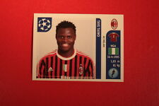 PANINI CHAMPIONS LEAGUE 2011/12 N 502 TAIWO MILAN WITH BLACK BACK MINT!!