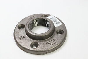 Anvil 8700164000 Pipe Floor Flange Black 1-1/4""