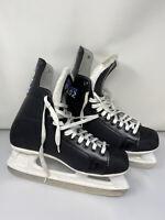 CCM Pro 102 Ice Hockey Skates Black Mens Size 11
