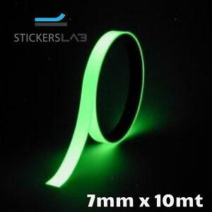 Phosphorband selbstklebendes Leuchtband Bühnenbedarf nachleuchtend glow stripe