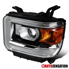 For 2014-2018 GMC Sierra 1500 Left Side Clear Projector Headlight Signal Lamp