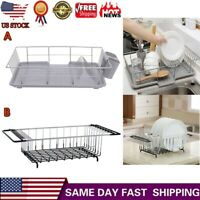 Kitchen Rack Sink Storage Kitchen Drain Dish Rack Tableware Cutlery Drain Rack