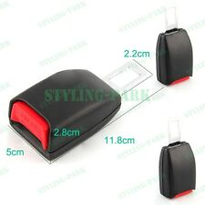 2 X Car SUV Auto Seat Belt Extender Safety Eliminator Alarm Stopper Buckle Clips