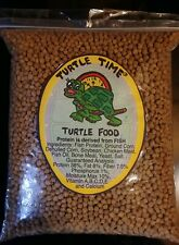 Aquatic Turtle Food 4 Pounds Floating 38% Protein Bulk Package, Free shipping !