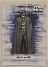"2016 Topps Star Wars Rogue One Series 1 ""DARTH VADER"" Chacater Stickers"