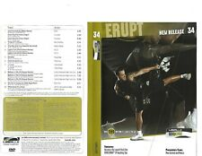 Les Mills Body Combat 34 Complete DVD, CD, Case and Notes