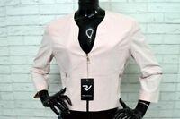 Giacca GIORGIO ARMANI Donna Taglia 48 Jacket Woman Giacca Rosa Elastica Jacke