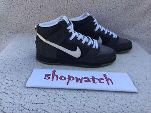 💥2013 Nike SB Dunk High Premier Petoskey skateboard sneaker 645986-010 Size 8.5