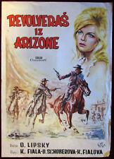 1964 Original Movie Poster Lemonade Joe Lipsky Karel Fiala Czech Musical Rare YU
