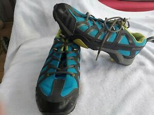 Shimano SH-MT34B Cycling Shoes Size 42 Us 8.3 With Green Super feet Insoles .