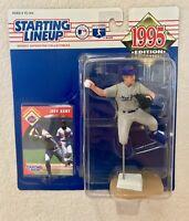 HTF 1995 JEFF KENT New York Mets Rookie #12 Starting Lineup SLU Kenner Baseball