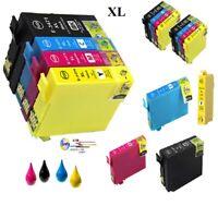 Imprimante-Cartouches pour Epson 34 XL Workforce Pro wf-3700 wf-3720 wf-3725
