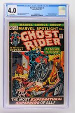 Marvel Spotlight #5 - Marvel 1972 CGC 4.0 Origin & 1st Appearance of Ghost Rider