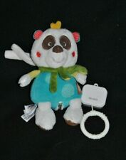 Peluche Doudou Panda Musical BABYSUN BABY SUN Déhoussable  20 Cm TTBE