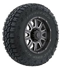 4 NEW TIRE(S) 35X12.50R18LT 123Q THUNDERER M/T R408 E/10 BW MUD TIRES 35125018