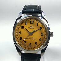 Vintage Helbros Mechanical Hand Winding Movement Dial Analog Wrist Watch C213