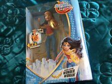 DC super hero girls boxed figure Wonder Woman lights sound action Brand New bnib