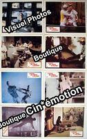 8 Photos Cinéma 23.5x29.5cm (1976) L'HOMME QUI VENAIT D'AILLEURS David Bowie TBE