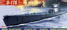 Mirage - U-Boot Deutsches U-Boot U-176 Typ IX C Turm II Modell-Bausatz 1:400 kit