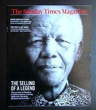 NELSON MANDELA CARLA BRUNI DOGGING JOAN COLLINS SUNDAY TIMES 24.03.13