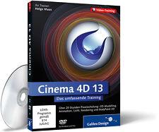Cinema 4D 13 - Das umfassende Training von Helge Maus (Galileo Design)