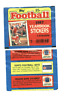 1987 Topps Football Sticker Set Mint W/ VG Unused Album