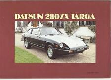 DATSUN 280ZX TARGA SALES BROCHURE  JANUARY 1983