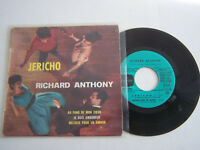 EP 45 T VINYL 4 TITRES ,  RICHARD ANTHONY ,  JERICHO  . G + / VG .