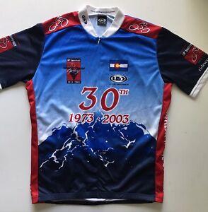 Louis Garneau Wheat Ridge Cyclery Cycling Jersey XL 30th Anniversary Colorado