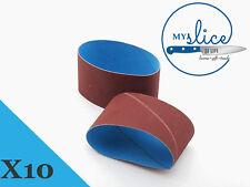 10X Nirey Rough Replacement Abrasive Belts - KE-3000 or KE-280 Models.