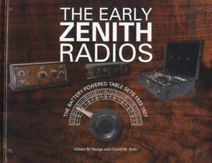 Early Zenith Radios Battery Powered Table Sets 1922-1927 Collector Reference