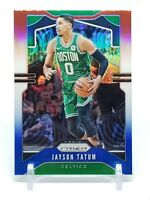 2019-20 Prizm Jayson Tatum Red White & Blue Refractor, Boston Celtics
