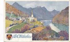 AK aus St. Nikola, Oberösterreich, DSV-Karte Nr. 285    (E13)