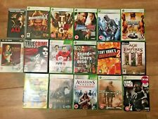 Xbox 360 & PC games assorted