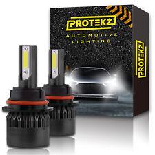 9005+9006 CREE LED Headlight Kit 240W Protekz Light Bulbs High & Low Beam Combo
