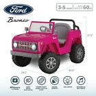 Ford Classic Bronco, 6-Volt Ride-On Toy by Kid Trax, ages 3 to 5, pink W