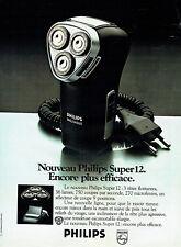 Publicité Advertising 028  1978    Philips  rasoir éléctrique   super 12