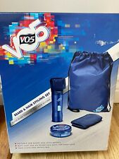 VO5 Beard and Hair Trimmer Set + Matt Hair Styling Clay With New Sports Bag Kit