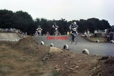 PHOTO  1968 BURGESS HILL SUSSEX BMX RACING THE BURGESS HILL TACK WAS CONSTRUCTED