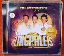 DE ROMEO'S LIVE IN HET ZINGPALEIS --- !!! CD + DVD !!!