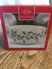 """Lenox #847245 HOLIDAY 5"""" Small Serving Bowl - NEW IN BOX"""