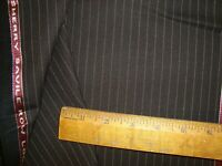 "4.5 yd HOLLAND SHERRY WOOL FABRIC Crispaire Super Fine 10 oz SUIT Brown 162"" BTP"