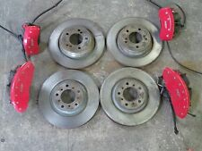 BMW E46 M3 FRONT AND REAR CALIPERS ROTORS BRAKES CALIPER PAD 91k MILES OEM