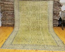 Exclusive Antique 1920-1930s Legendary 6'3×7'9t Wool Pile Muted Color Hereke Rug