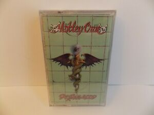 MOTLEY CRUE - DR FEELGOOD - (NEW SEALED) 1989 CASSETTE TAPE - Kickstart Same Old