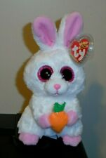 """Ty Beanie Boos ~ BRUNCH the Easter Bunny Rabbit 6"""" (Exclusive) 2020 NEW"""