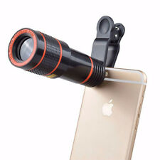 Clip-on 8x Optical Zoom HD Telescope Camera Lens For Universal Mobile Phone 7221